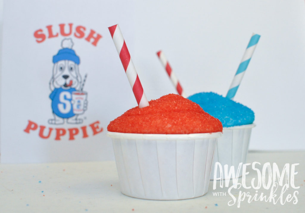 Slush Puppie Cupcakes | Awesome with Sprinkles