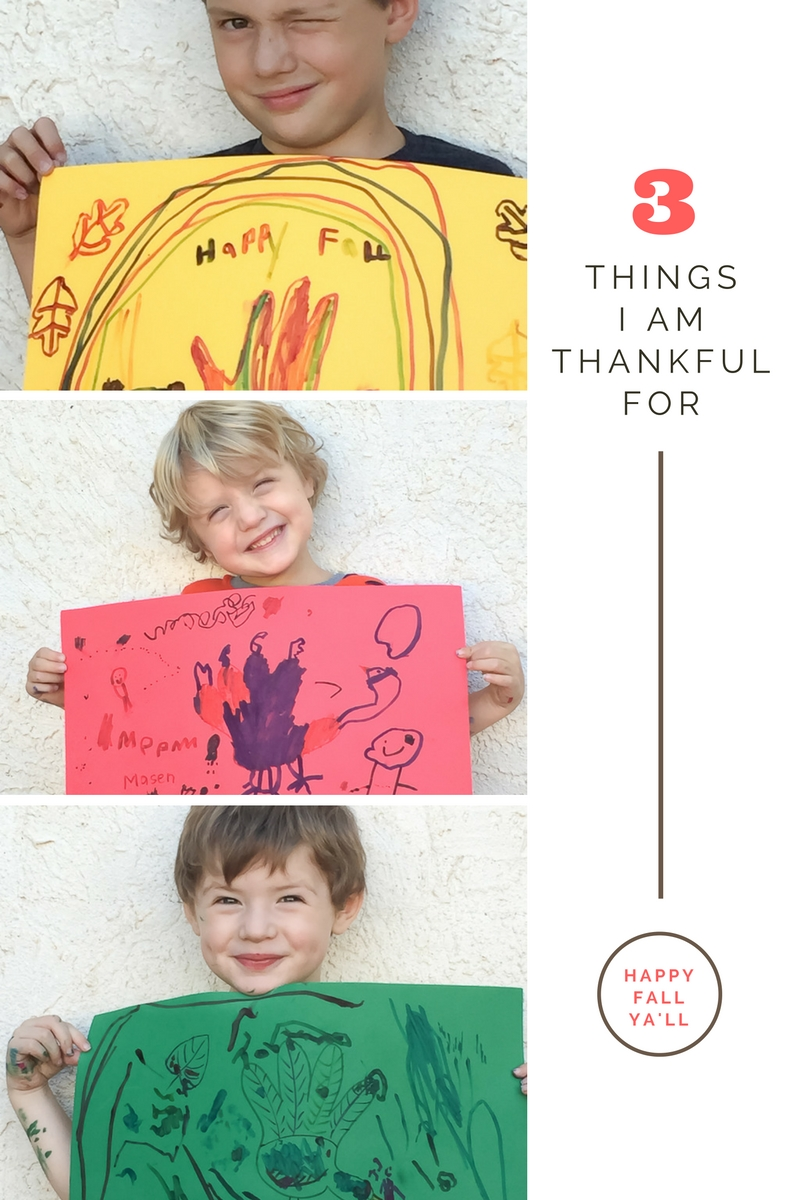 Thanksgiving Placemat Craft | Awesome with Sprinkles