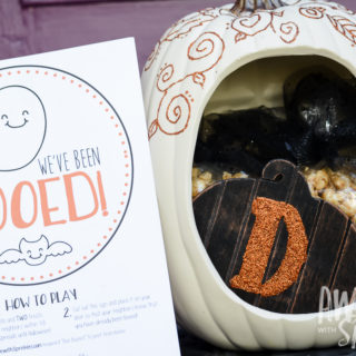 Boo Basket Printable + Gift Ideas Round-up