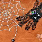 Handprint Spider Trick-or-Treat Bags Kids Craft