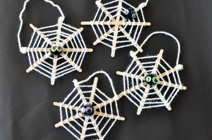 Spiderweb Craft | Awesome with Sprinkles