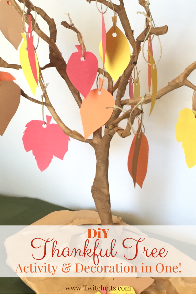 Thankful Tree Round-up | DIY tree