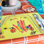 Thanksgiving Placemat Kids Craft | Awesome with Sprinkles