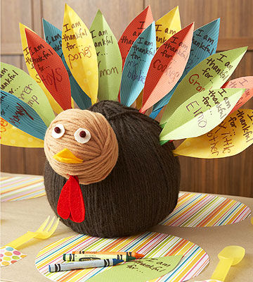 Thankful Tree Round-up | Thankful Turkey