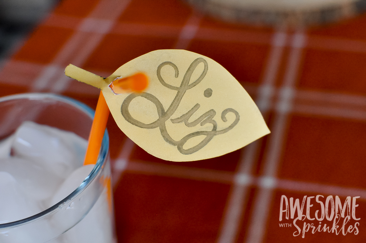 Place Cards DIY | Awesome with Sprinkles
