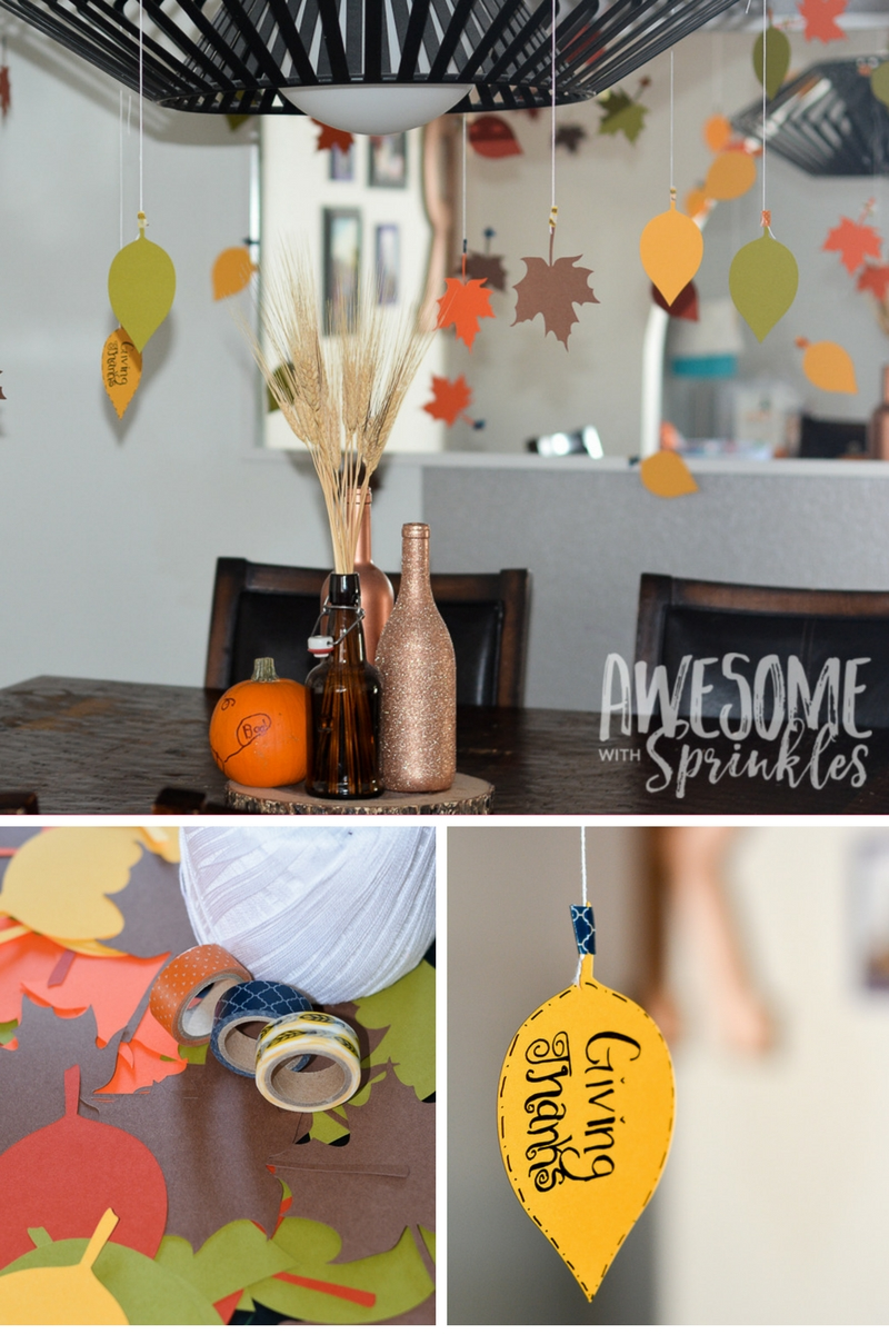 Thankful Leaves Craft | Awesome With Sprinkles