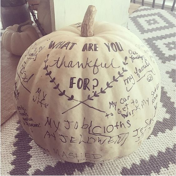 Thankful Tree Round-up | Thankful Pumpkin