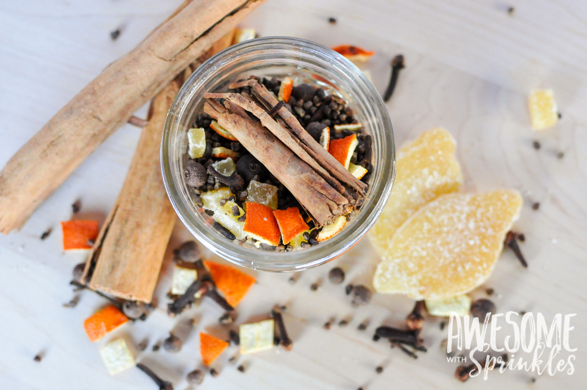 DIY Mulling Spice Mix | Awesome with Sprinkles