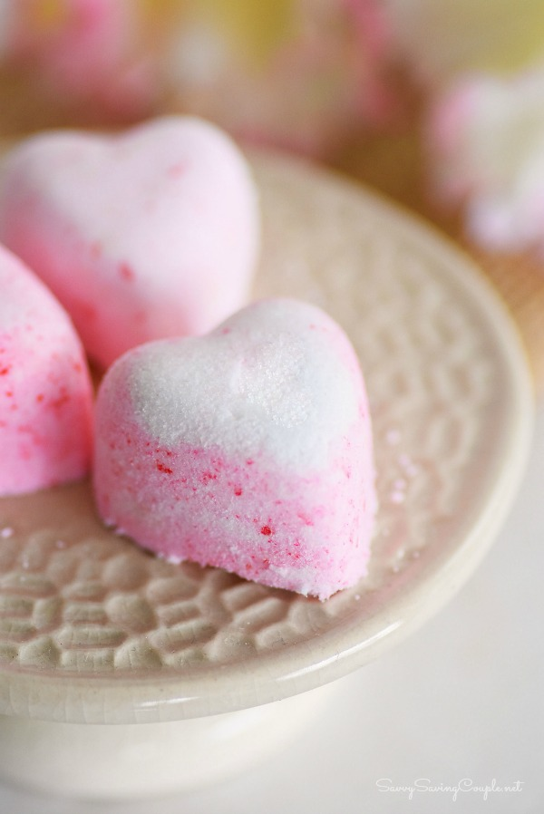 Bath Fizzies from DIY Galentine's Day Gift Ideas Round Up || Awesome with Sprinkles