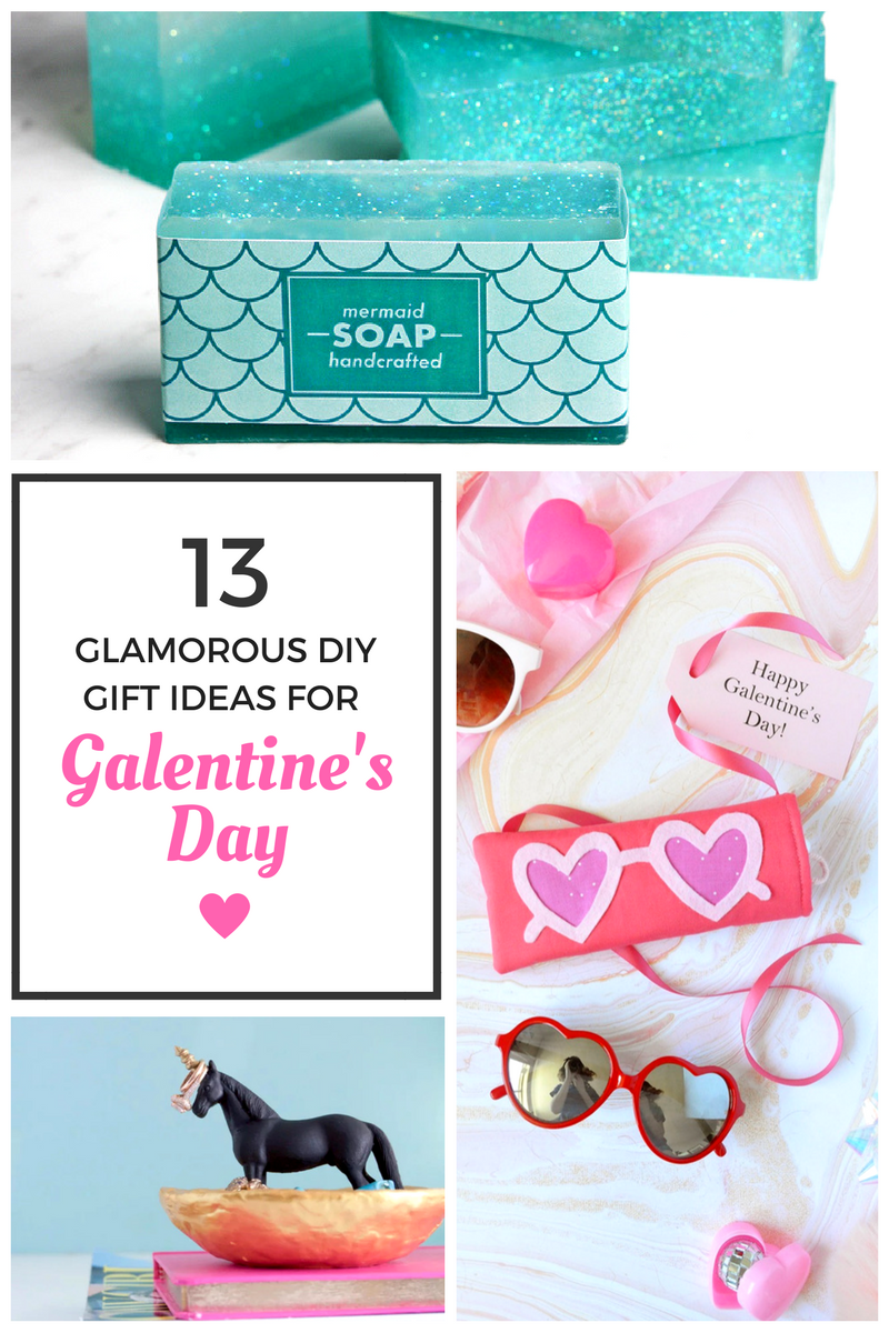 13 Glamorous DIY Gift Ideas for Galentine's Day || Awesome with Sprinkles