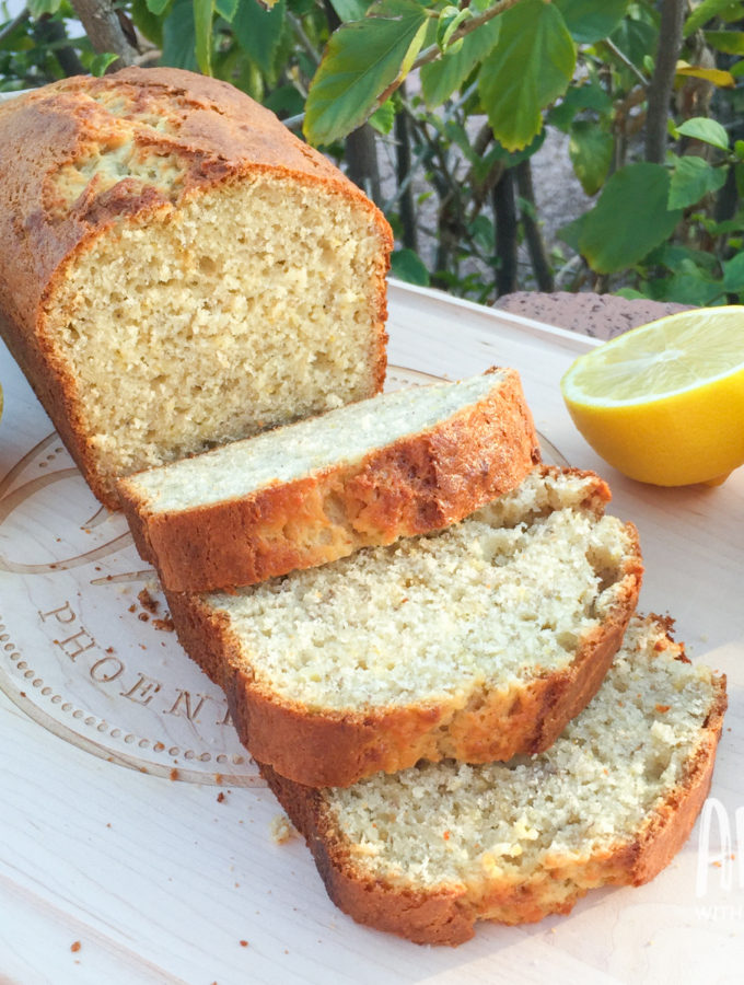 Fresh Squeezed Lemon Banana Bread   Awesome with Sprinkles