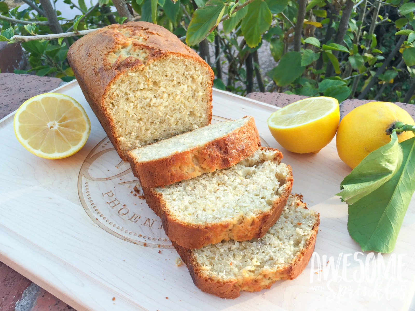 Fresh Squeezed Lemon Banana Bread | Awesome with Sprinkles