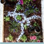 Mini Garden Makeover on a Budget by Awesome with Sprinkles
