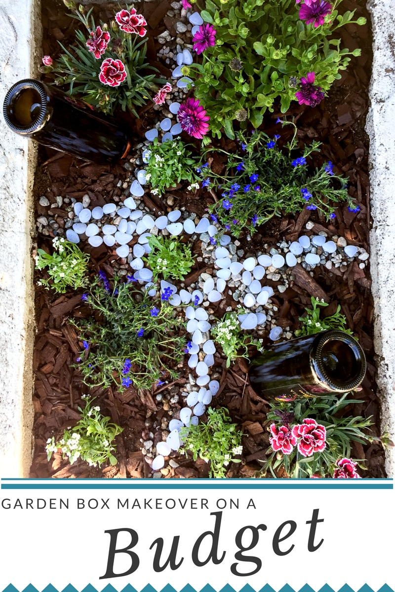 Mini garden makeover on a budget awesome with sprinkles for Garden makeover on a budget