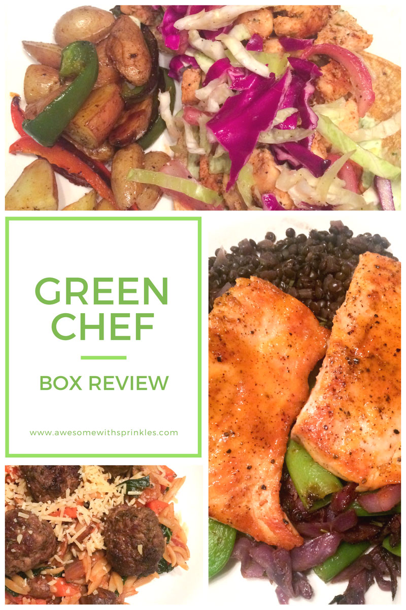 Green Chef Box Review | Awesome with Sprinkles
