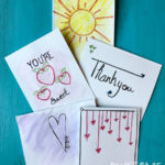 DIY Watercolor Art Cards