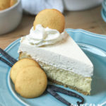 Easy Vanilla Bean Cheesecake with Whipped Vanilla Mousse