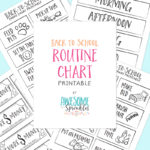 Back-to-School Printable Routine Chart