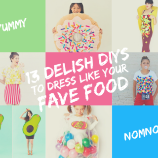 13 Delish DIYs to Dress like your Favorite Food for Halloween!
