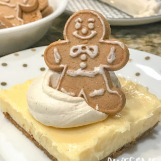 Easy No-Bake Eggnog Cheesecake