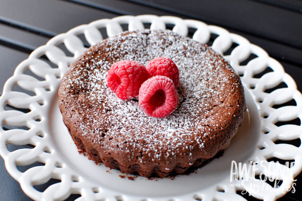 Flourless Chocolate Cake | Awesome with Sprinkles