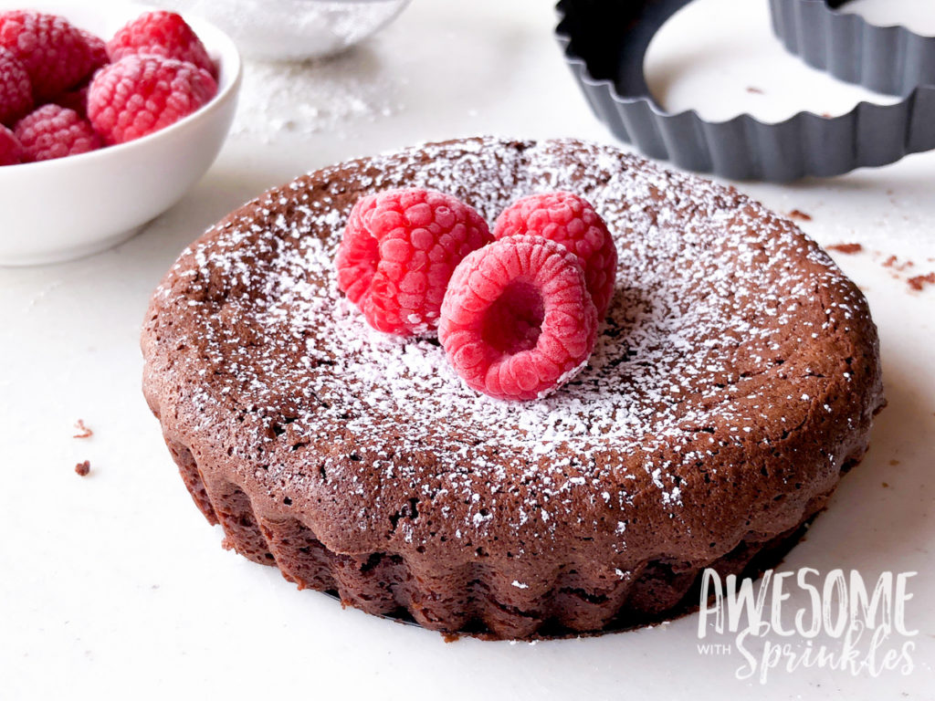 Flourless Chocolate Cake Using Only Cocoa Powder