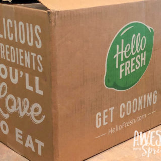 Hello Fresh Box Review | Awesome with Sprinkles