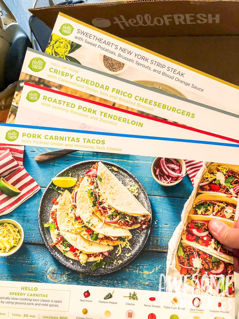 Dimensions Width Meal Kit Delivery Service  Hellofresh