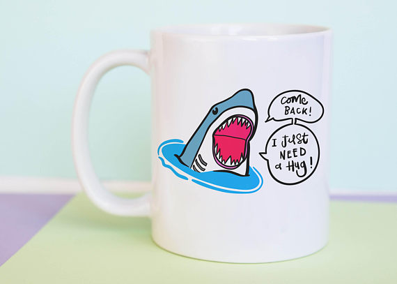 Shark Kitchen Gadgets Roundup for Shark Week | Shark Hug Mug
