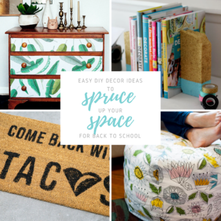 Easy DIy Decor Ideas for Back to School